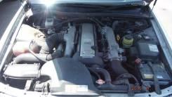 Двигатель. Toyota Chaser, JZX100 Двигатель 1JZGTE