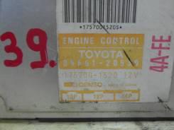 Блок управления двс. Toyota Corona, AT175 Toyota Carina, AT175 Двигатель 4AFE