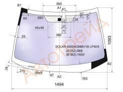 Стекло лобовое в клей HONDA CR-V 2006- XYG SOLAR-4000AGNMV1B LFW/X