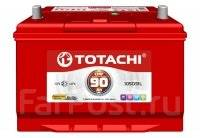 Totachi. 90 А.ч., правое крепление, производство Корея