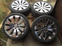 Хромированные широкие колеса R18 без пробега по РФ!. 9.0x18 5x114.30 ЦО 73,0мм.