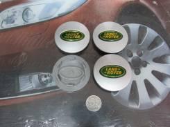 Ступичные колпачки LAND Rover зеленого цвета