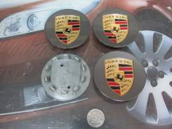 Ступичные колпачки Porsche (Серые). Porsche Cayenne Porsche Panamera Porsche Cayman