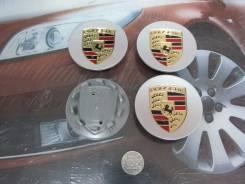 Ступичные колпачки Porsche (белые). Porsche 911 Porsche Cayman Porsche Cayenne Porsche Panamera