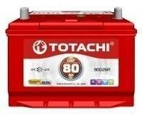Totachi. 80 А.ч., правое крепление, производство Япония