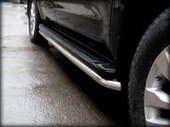 Пороги (обвод штатного порога, под порог) d-53 Toyota Sequoia. Под заказ
