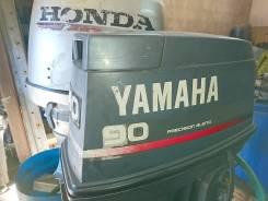 Yamaha. 90,00л.с., 2х тактный, бензин, нога L (508 мм), Год: 1999 год