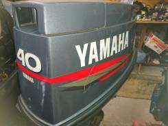 Yamaha. 40,00л.с., 2х тактный, бензин, нога S (381 мм), Год: 2008 год