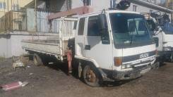 Isuzu Forward. Кран маниулятор, 8 000 куб. см., 5 000 кг.