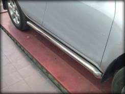 Пороги d-76 с загибом Toyota RAV-4 2010-2012 Г. В. Под заказ