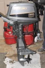 Suzuki. 6,00л.с., 2х тактный, бензин, нога S (381 мм)