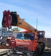 Галичанин КС-55713-1В. Камаз галичанин 2013 года 25 тонн стрела 28 метров состояние идеальное, 25 000 кг., 28 м.