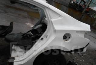 Задняя часть автомобиля. Hyundai Solaris