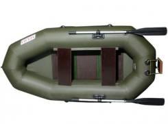 """Лодка надувная из пвх """"Nelma NL-250t"""". Год: 2016 год, длина 280,00м., двигатель подвесной, 3,00л.с., бензин"""