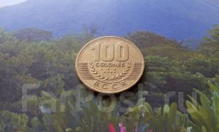 Коста-Рика. Огромные 100 колонов 1998 года.