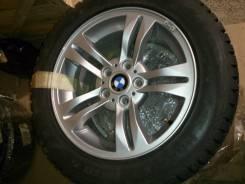 Зимние колеса в сборе на BMW X3 E 83. 8.0x17 5x120.00 ET46