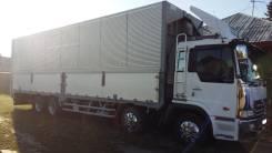"Hino Profia. Продаю 1999 г. ""сороконога"", фургон-бабочка, 13 000 куб. см., 15 000 кг."