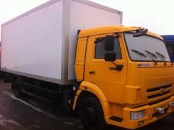 Камаз 4308. Изотермический фургон, 1 500 куб. см., 6 920 кг.