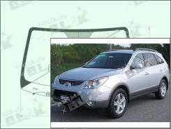 Лобовое стекло Hyundai VERACRUZ 2006-2015 (SUV) пятак-зерк обогрев-дворн датчик (Зеленоватый оттенок, Бренд:УНG)
