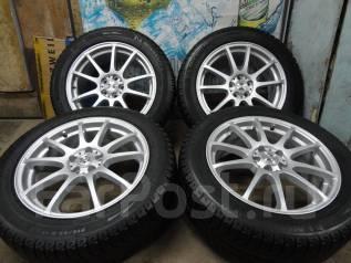 Продам Стильные Зимние колёса Zephyr+Зима ЖИР 215/55R17Toyota, Subaru. 7.0x17 5x100.00 ET48