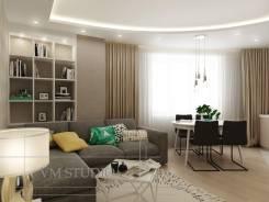VM Studio Дизайн проект 2-х комнатной квартиры. Тип объекта новострой, срок выполнения месяц