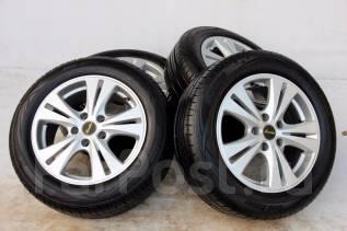 Колёса с шинами =Reverline= R16! Протектор 7мм! 2014 год! (№ 1818). 6.5x16 5x114.30 ET38