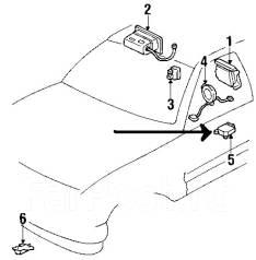 Блок управления airbag. Hummer H2