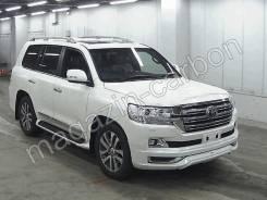 Обвес кузова аэродинамический. Toyota Land Cruiser, VDJ200, J200, URJ202