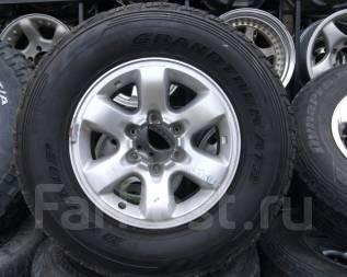 Шины Dunlop 265/70R16 лето на литье Nissan Safari и т. д. 8.0x16 6x139.70 ET10