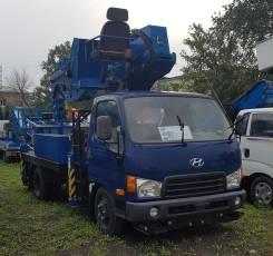 Dasan. Автовышка Hyundai Mighty DS280S, 3 907 куб. см., 28 м.