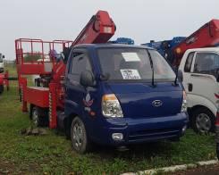 Novas 180q. Автовышка Kia Bongo III Novas 180Q, 2 902 куб. см., 18 м.