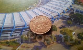 Бразилия. 25 сентаво 2008 года. Большая красивая монета!