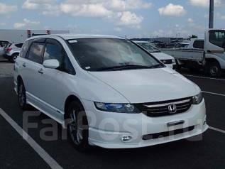 Honda Odyssey. автомат, 4wd, 2.4, бензин, 167тыс. км, б/п, нет птс. Под заказ