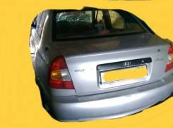 Обшивка багажника. Hyundai Accent