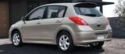 Спойлер. Nissan Tiida, C11, JC11, NC11