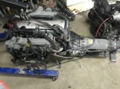 Двигатель в сборе. Toyota Chaser, JZX100 Toyota Cresta, JZX100 Двигатели: 1JZGTE, 1JZGE, 1JZFE, 1GGTE