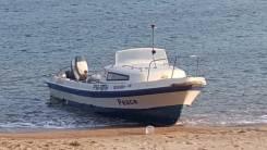 Yamaha Fish 22. Год: 1990 год, длина 6,60м., двигатель подвесной, 90,00л.с., бензин