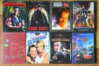 Фильмы, DVD. 300 шт