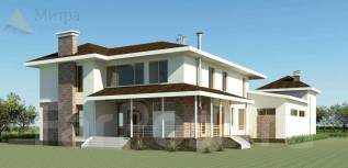 Индивидуальный проект дома. 400-500 кв. м., 2 этажа, комбинированный