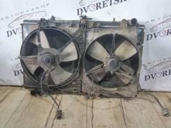 Вентилятор радиатора кондиционера. Nissan Prairie, NM11