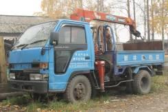 Isuzu Elf. Продается грузовик с манипулятором Isuzu ELF, 3 626 куб. см., 2 000 кг.
