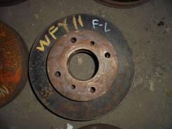 Диск тормозной. Nissan AD, VY11, WPY11, VENY11, WFY11, VGY11, WHY11, VFY11, VHNY11, VEY11, WHNY11, WRY11 Nissan Wingroad, VGY11, VFY11, WRY11, VY11, W...
