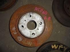 Диск тормозной. Toyota XA, NCP61 Toyota ist, NCP60, NCP61, NCP65 Toyota Scion, NCP61