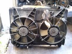 Радиатор охлаждения двигателя. Toyota Harrier, MCU15 Двигатель 1MZFE