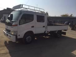 Toyota Dyna. Продается двухкабинный грузовик , 4 613 куб. см., 3 000 кг.