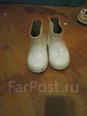 Сапоги резиновые. 19,5