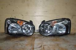 Фары Субару  Subaru Impreza  GG2, GD9, GG9, GD3, GDB, GG3, GD2,  с капелькой