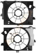 Диффузор радиатора HYUNDAI SOLARIS / KIA RIO III 10- SAT ST-HNS1-200-0