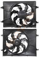 Диффузор радиатора в сборе KIA CEED 07-/HYUNDAI ELANTRA /I30 06-10 SAT ST-KA02-201-0
