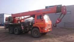 Клинцы КС-55713-5К-3. Продам Камаз автокран , 25 000 кг., 28 м.